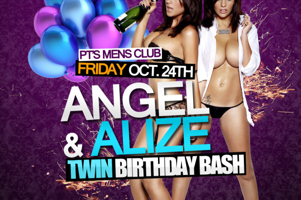 TWINS B-DAY PARTY OCT 24 @ 10PM-4AM
