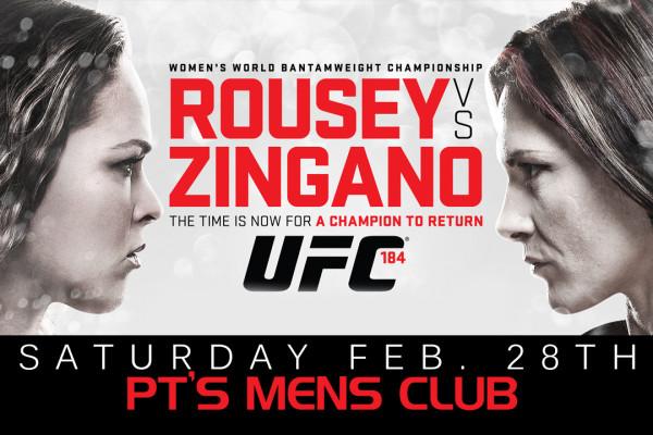 WATCH UFC 184@PT'S