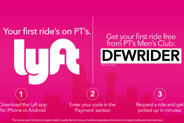 First ride is Free to Pt's w/ LYFT app.